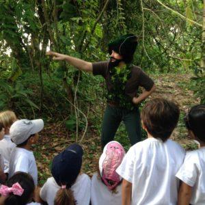 Aprendendo na Natureza, uma aventura para Educação Infantil